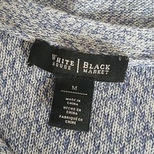 White House Black Market Sweaters - WHBM Marled Metallic Tunic Sweater